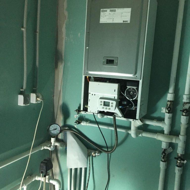 Автономная газификация дома 160 кв/м с отоплением