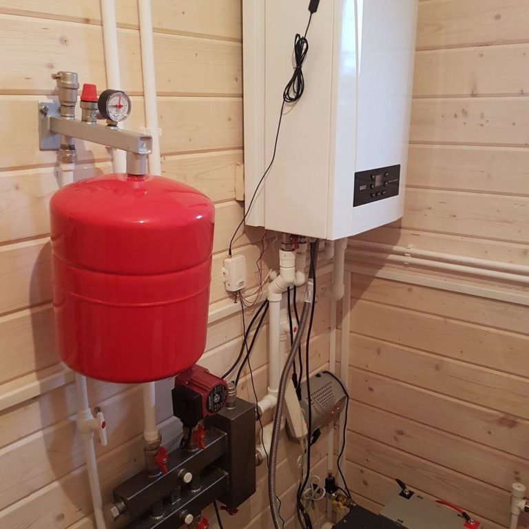Газификация и отопление дома 150 кв/м для постоянного проживания