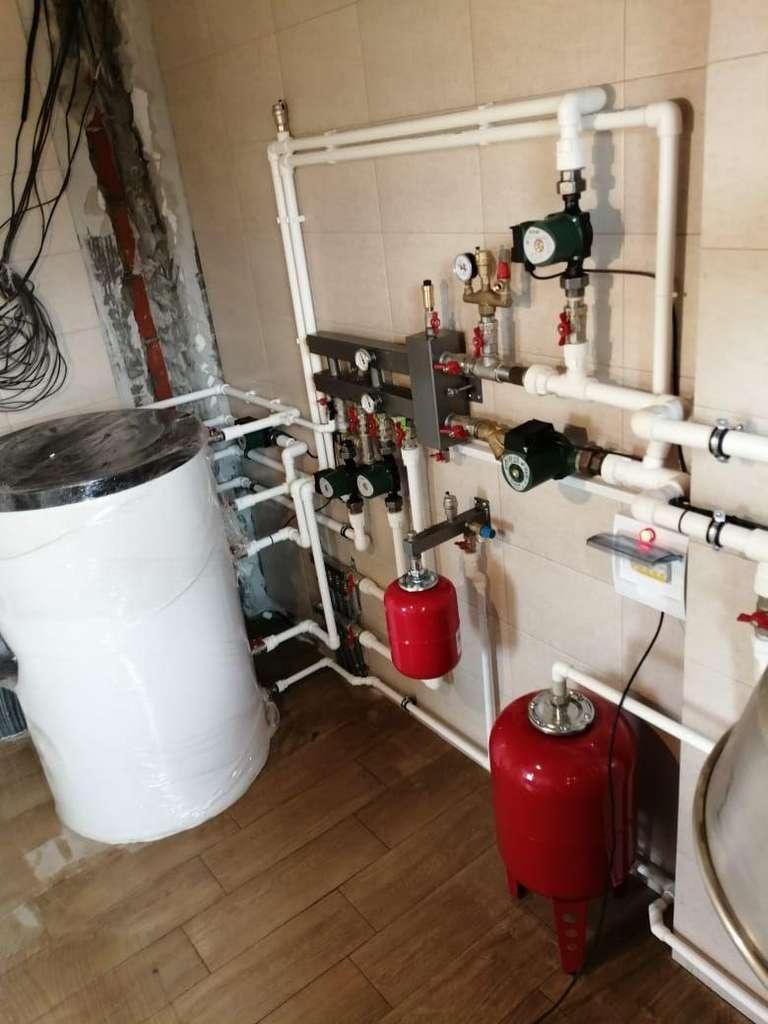 Монтаж системы отопления под ключ по тарифу Премиум