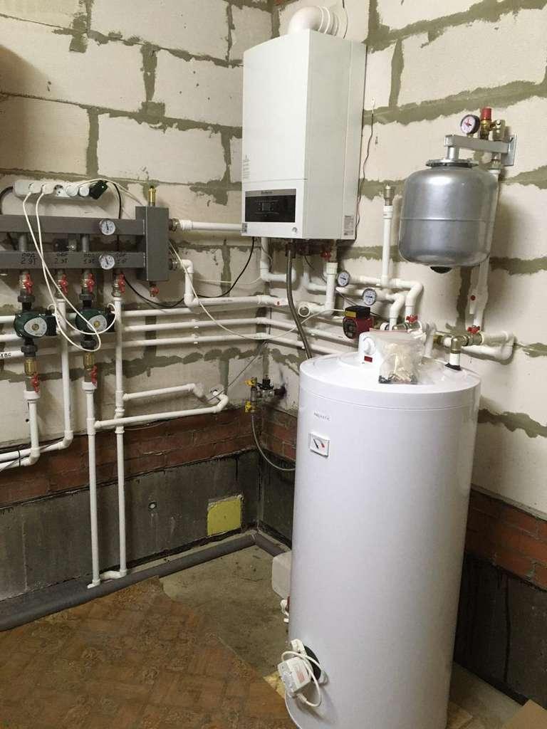 Монтаж системы отопления под ключ по тарифу Стандарт